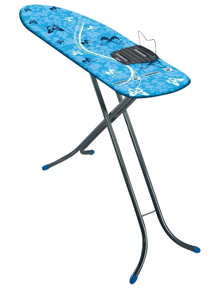 LEIFHEIT Bügeltisch, Air Board M Shoulder Fit Compact, Blau