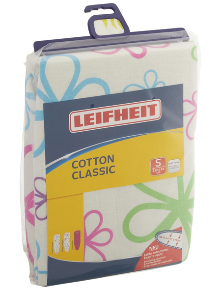 LEIFHEIT Bügeltischbezug, Cotton Classic, 34x112 cm
