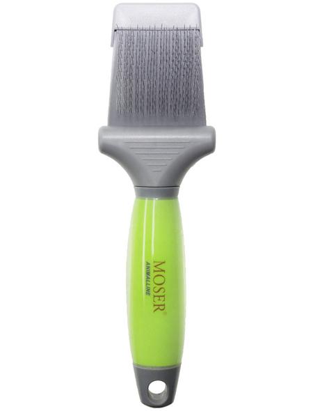 MOSER Bürste, grün/grau