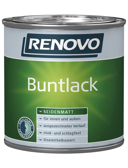 RENOVO Buntlack, altweiß, seidenmatt
