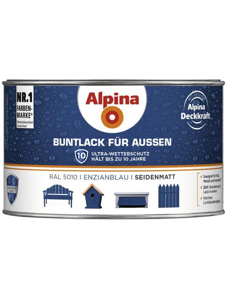 ALPINA Buntlack, blau , seidenmatt