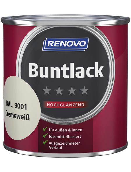 RENOVO Buntlack, cremeweiß, hochglänzend