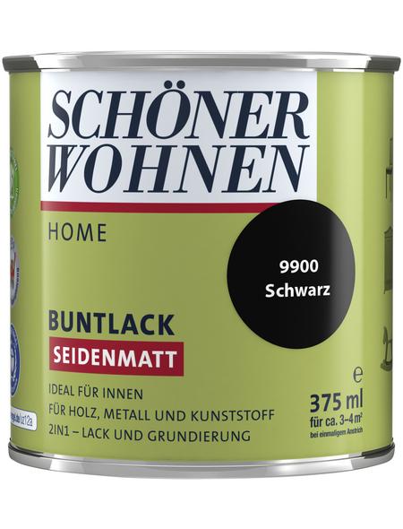 SCHÖNER WOHNEN FARBE Buntlack »DurAcryl seidenmatt«, schwarz, seidenmatt