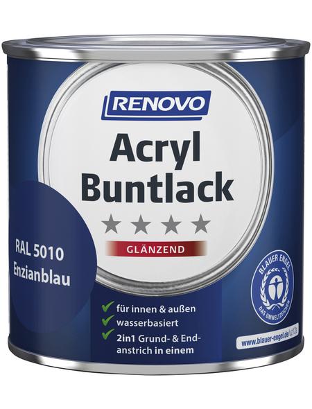 RENOVO Buntlack, enzianblau, glänzend