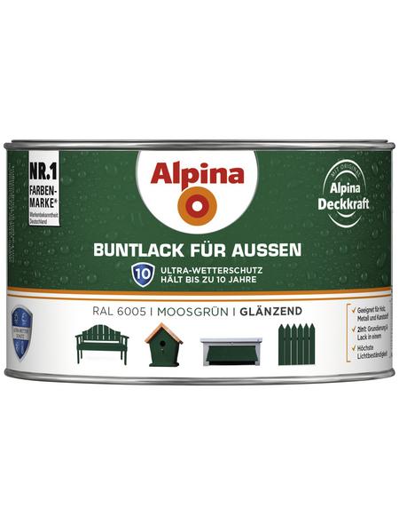 ALPINA Buntlack, grün, glänzend