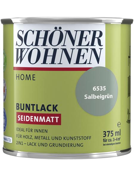 SCHÖNER WOHNEN Buntlack »Home«, salbeigrün , seidenmatt