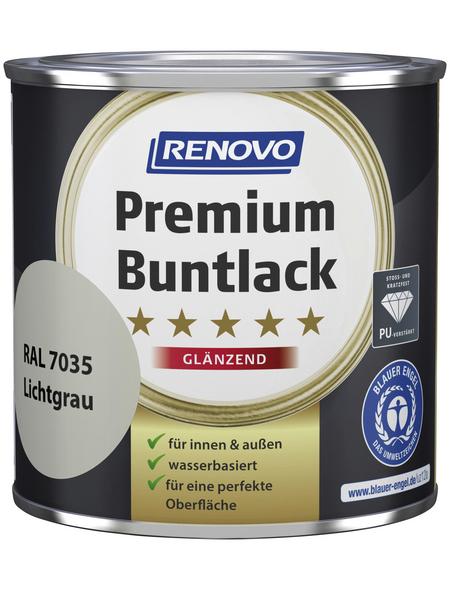 RENOVO Buntlack, lichtgrau, glänzend
