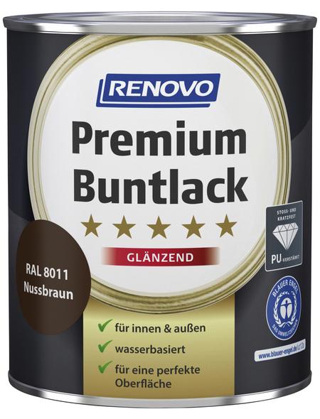 RENOVO Buntlack, nussbraun, glänzend