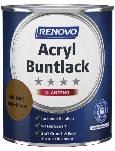 RENOVO Buntlack, ocker, glänzend