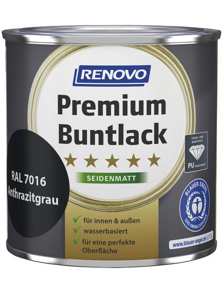 RENOVO Buntlack »Premium«, anthrazitgrau, seidenmatt