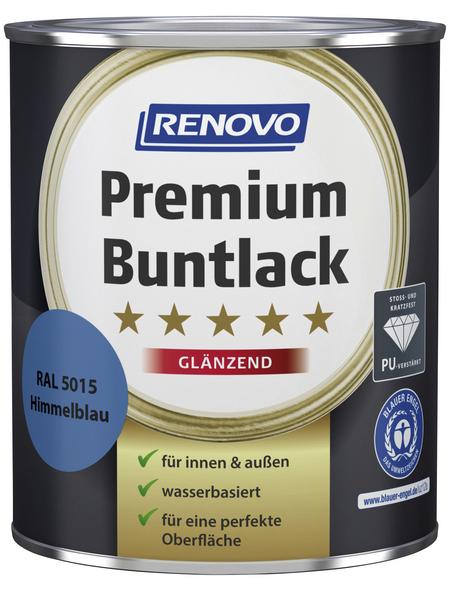 RENOVO Buntlack »Premium«, himmelblau, glänzend