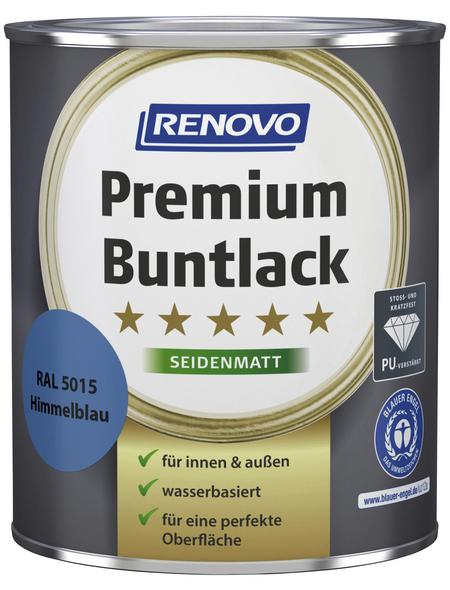 RENOVO Buntlack »Premium«, himmelblau, seidenmatt