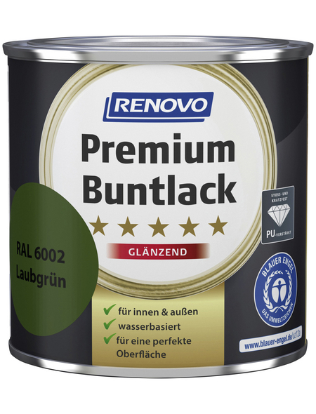 RENOVO Buntlack »Premium«, laubgrün, glänzend
