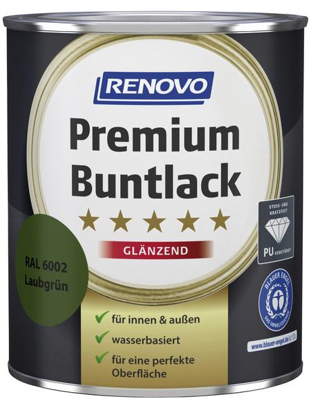 RENOVO Buntlack »Premium«, laubgruen, glänzend
