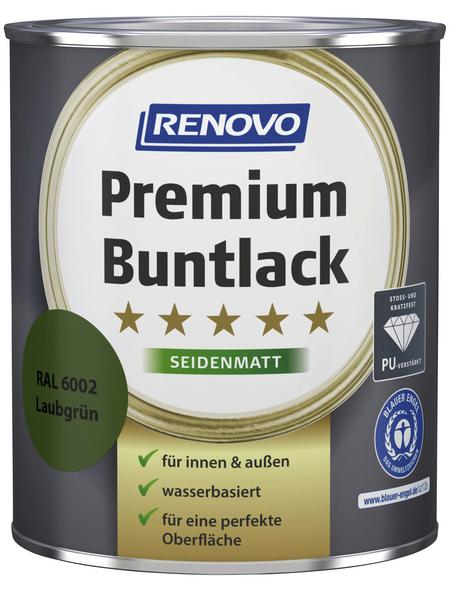 RENOVO Buntlack »Premium«, Laubgrün, seidenmatt