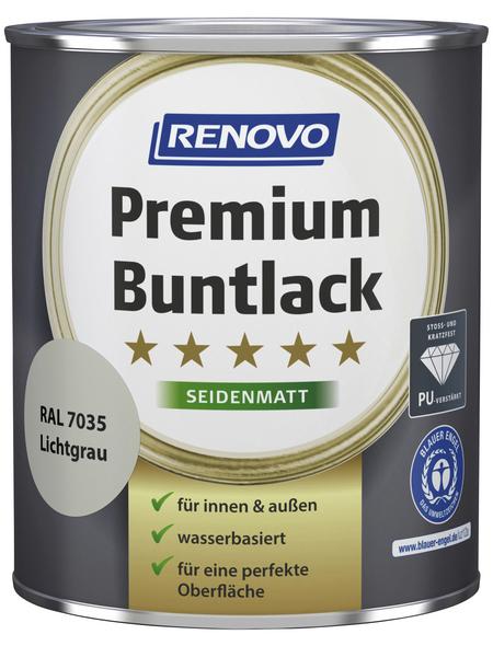 RENOVO Buntlack »Premium«, lichtgrau, seidenmatt