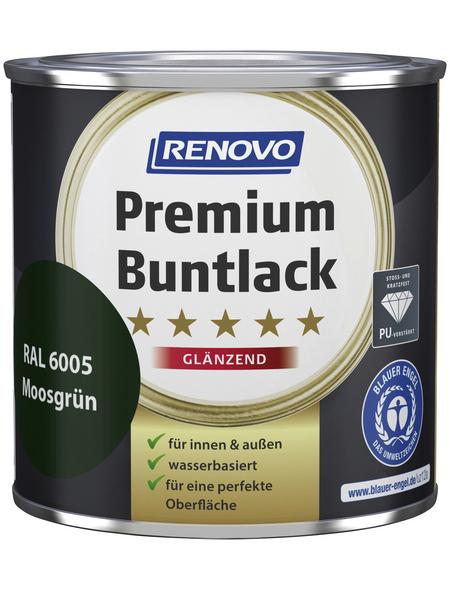 RENOVO Buntlack »Premium«, moosgruen, glänzend