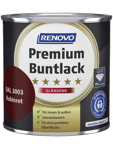 RENOVO Buntlack »Premium«, rubinrot, glänzend