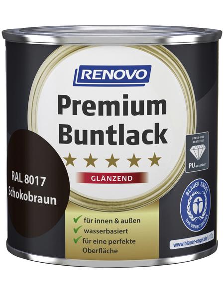 RENOVO Buntlack »Premium«, schokobraun, glänzend
