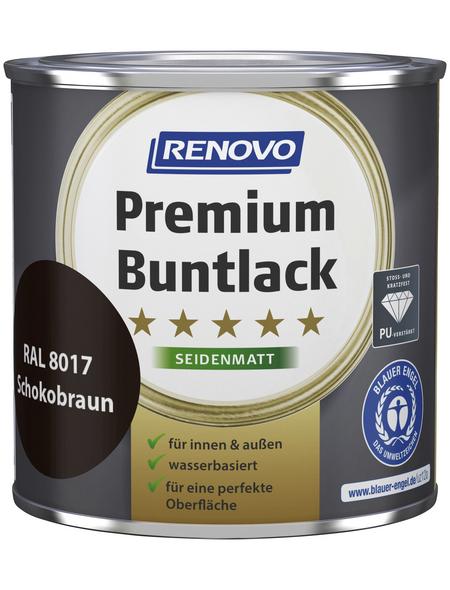 RENOVO Buntlack »Premium«, schokobraun, seidenmatt