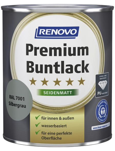 RENOVO Buntlack »Premium«, silbergrau, seidenmatt