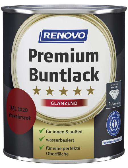 RENOVO Buntlack »Premium«, verkehrsrot, glänzend
