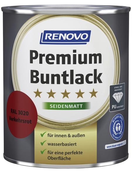 RENOVO Buntlack »Premium«, verkehrsrot, seidenmatt