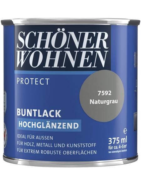 SCHÖNER WOHNEN Buntlack »Protect«, naturgrau , hochglänzend