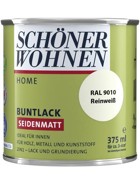 SCHÖNER WOHNEN Buntlack, reinweiß , seidenmatt