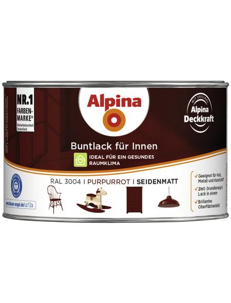 ALPINA Buntlack, rot , seidenmatt