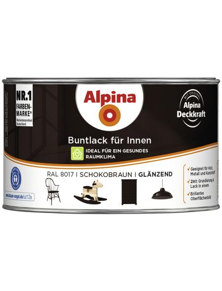 ALPINA Buntlack, schokobraun, für innen