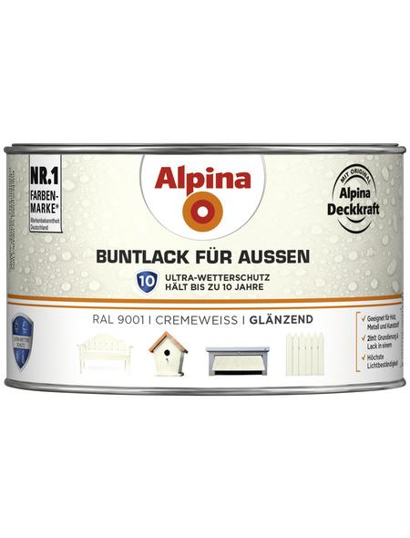 ALPINA Buntlack, weiß , glänzend