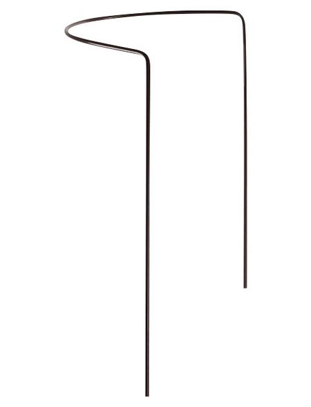 Busch- und Strauchstütze, BxHxT: 40 x 35 x 40 cm, Stahldraht