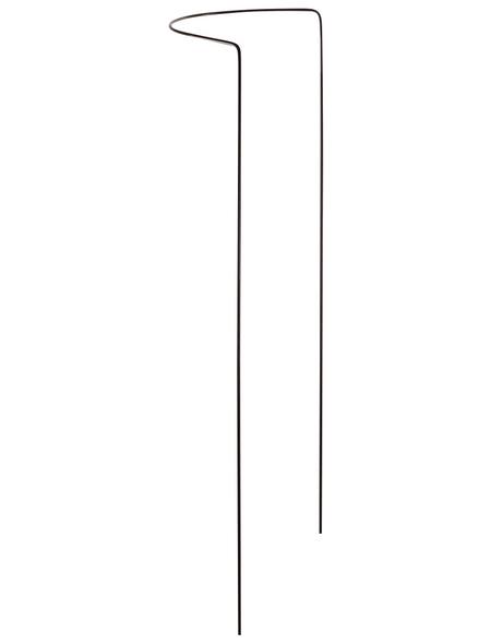 Busch- und Strauchstütze, BxHxT: 40 x 70 x 40 cm, Stahldraht