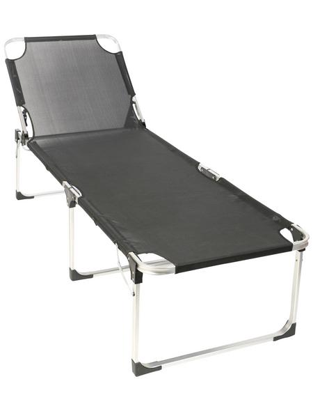 SUNGÖRL Campingliege Aluminium + Textil