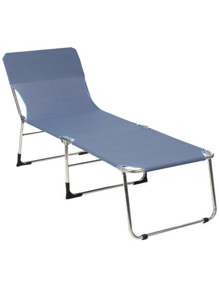 SUNGÖRL Campingliege »Campingliege Paradiso«, Alu/Textil, Klappfunktion