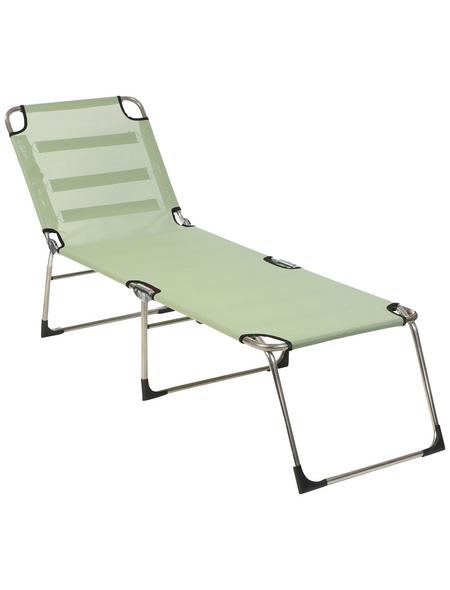 SUNGÖRL Campingliege »Campingliege Paradiso«, Gestell: Aluminium, Klappfunktion