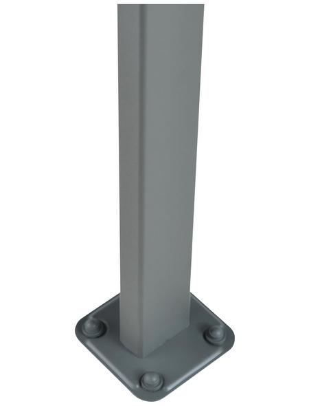 PALRAM Carport »Atlas 5000«, BxTxH: 288  x 495  x 239  cm, grau