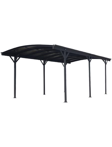 Carport, B x T x H: 300  x 505  x 219  cm, anthrazit