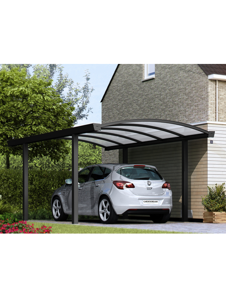GARDENDREAMS Carport »Bogencarport«, B x T x H: 300 x 600 x 250 cm, anthrazit
