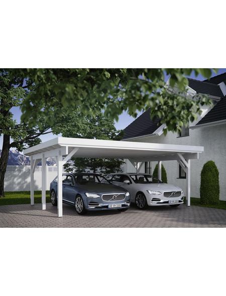 KIEHN-HOLZ Carport »KH 311«, Außenmaß BxT: 340 x 504 cm, anthrazit