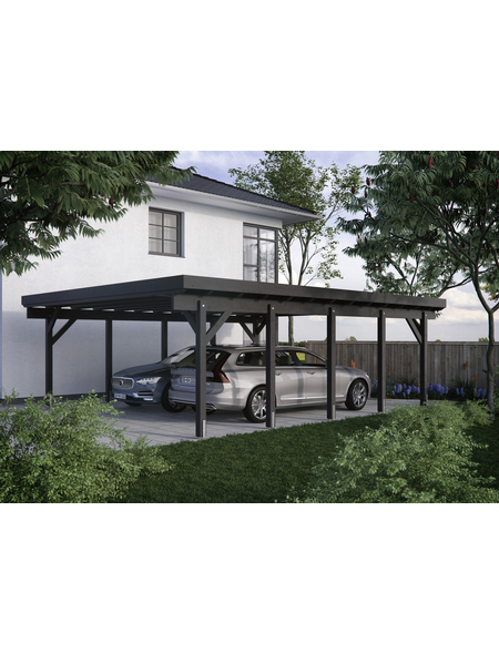 KIEHN-HOLZ Carport »KH 330«, Außenmaß BxT: 634 x 754 cm