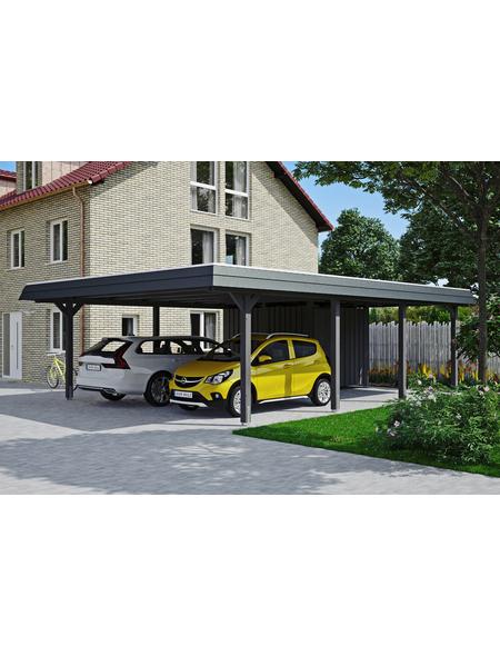 SKANHOLZ Carport »Wendland«, Außenmaß BxT: 574 x 738 cm