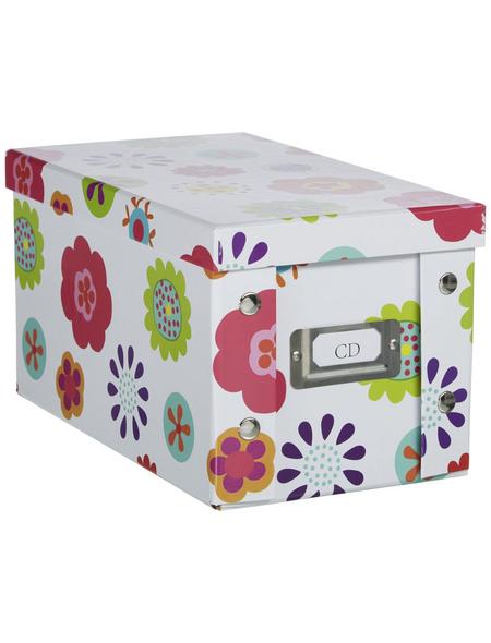 ZELLER CD-Box, Breite: 16,5 cm, Pappe