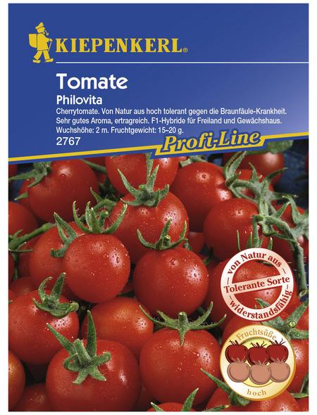 KIEPENKERL Cherry-Tomate lycopersicum Solanum »Philovita«