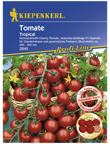 KIEPENKERL Cherry-Tomate lycopersicum Solanum »Tropical F1«