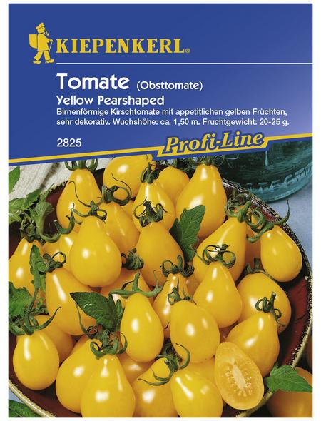 KIEPENKERL Cherry-Tomate lycopersicum Solanum » Yellow Pearshaped«