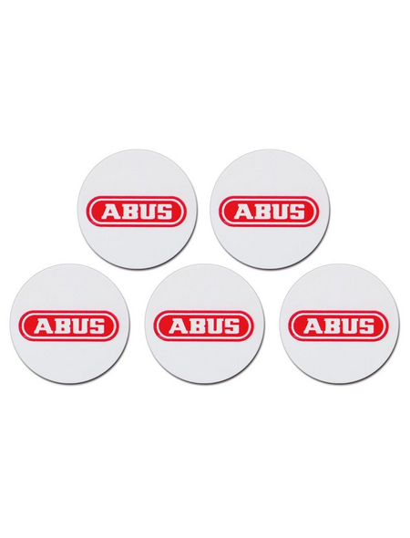 ABUS Chip-Sticker »AZ5502«, 5 Stück, weiß