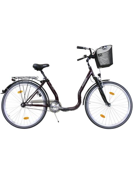 CHALLENGE Citybike Tiefeinsteiger, 26 Zoll, 1-Gang, Unisex