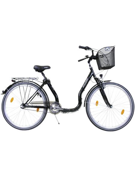 CHALLENGE Citybike Tiefeinsteiger, 26 Zoll, 3-Gang, Unisex